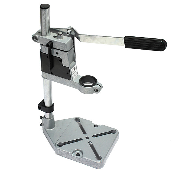 ФОТО New Arrival Bench Drill Press Stand Workbench Repair Tool Clamp for Drilling Collet 35&43mm