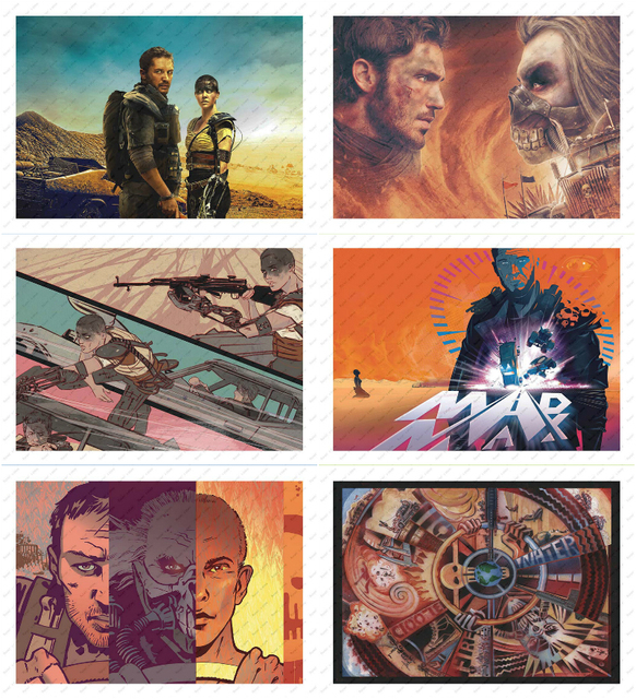 Mad Max: Fury Road White kraft paper poster wallpaper wall sticker Decorative paintings Moive Poster