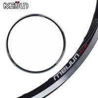 MEIJUN 26 Inch Mountain Bike Double Disc Brakes V Brake Aluminum 32 Hole Rims Wheel Rim