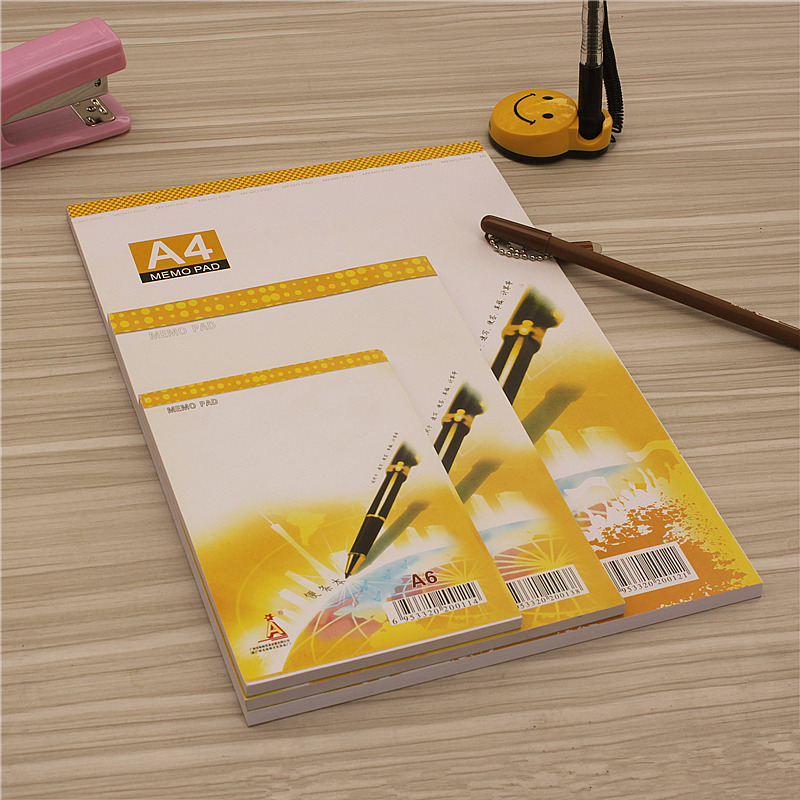 A4 A5 A6 Business Memo Pad  Fashion High Quality Creative Stationery Blank Message Pad Office Supplies