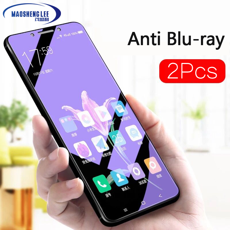Full-Tempered-Glass Glass-Film Screen-Protector Anti-Blu-Ray Xiaomi Mi-Max Max-3