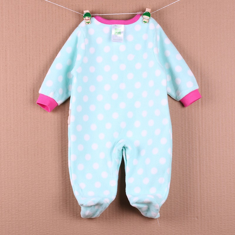 New Arrival Baby Footies Boys&Girls Jumpsuits Spring Autumn Clothes Warm Cotton Baby Footies Fleece Baby Clothing Free Shipping (18)