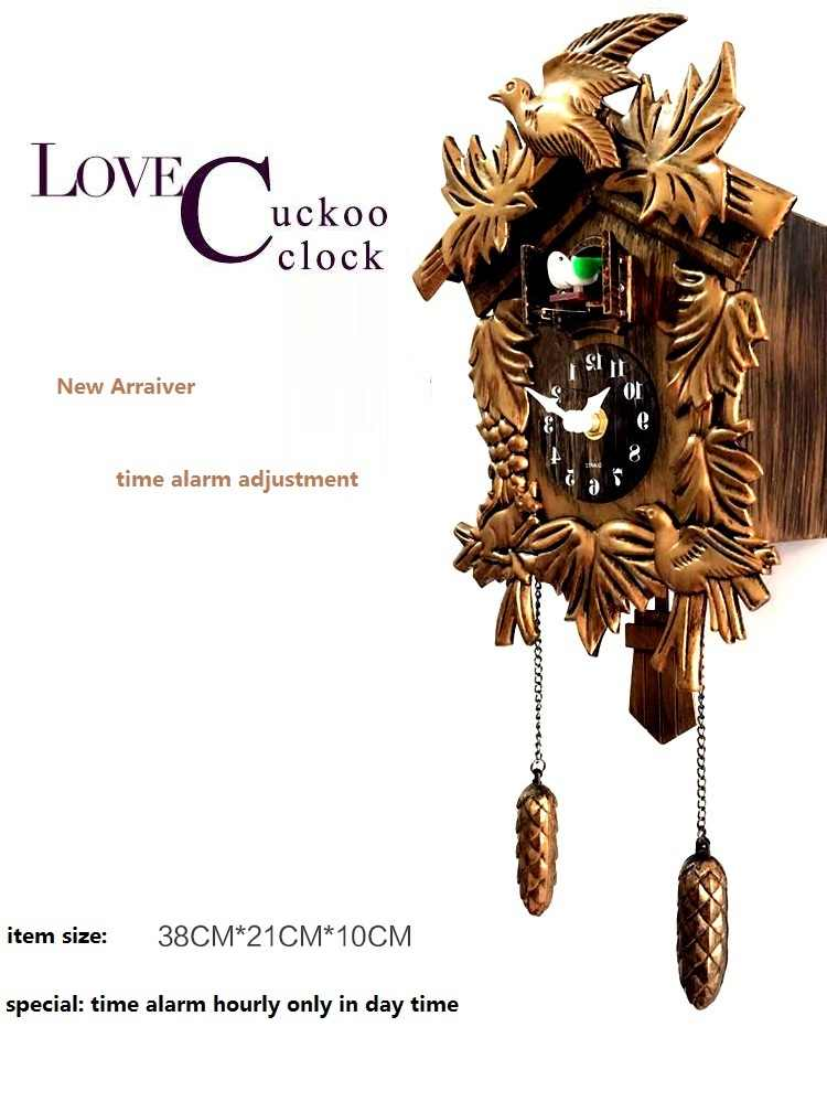 Detail Feedback Questions About Cuckoo Clock Living Room Wall Clock