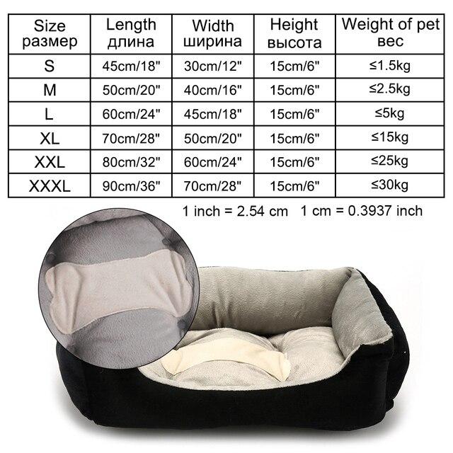 Animal de compagnie chien lit canapé grand chien lit pour petit moyen grand chien tapis banc chaise longue chat Chihuahua chiot lit chenil chat animal domestique fournitures
