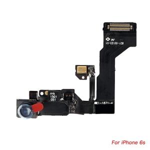 Image 5 - Гибкий кабель с датчиком приближения для iPhone 6 6Plus 6s 6s Plus, фронтальная камера с динамиком + винты в комплекте