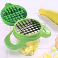 Stainless Steel Fruit Vegetables Slicer Dice Chop Machine Food Onion Chopper Potato Dicer DIY Salad Easy