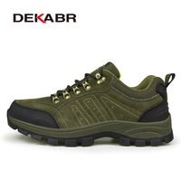 2016 New Men Hiking Shoes Men S Outdoor Mountain Hiking Trek Climbing Male Sneakers Breathable Trial