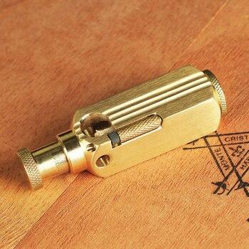 Briquet Gift Handmade Brass Oil Lighter6