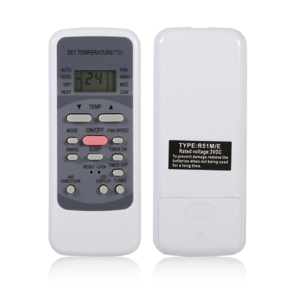 R51M/E Universal Air Conditioner Remote Control For Media Air Conditioner Controller Air-Conditioning Replacement