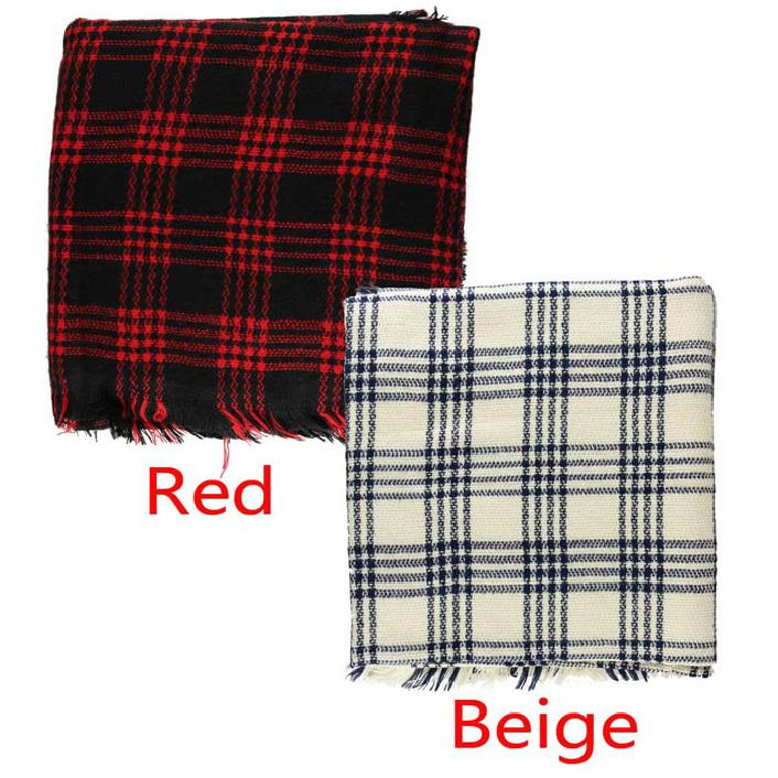 Fantastic New Fashion Winter Infinity Blanket Oversized Shawl Plaid Check font b Tartan b font Scarf