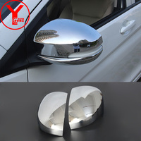 2015 2016 ABS mirror cover For Honda CITY 2014 2015 2016 chrome side rearview mirror car parts for honda city accessories YCSUNZ