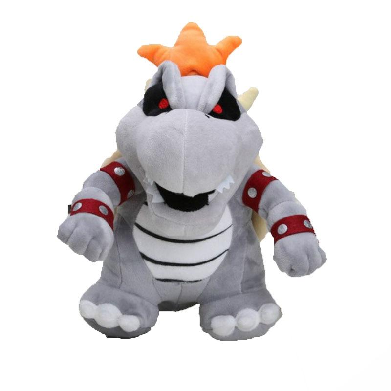 "3Pcs/Set Plush Toys Super Mario Bros Bowser Koopa Kuba Dragon Dark Bowser Stuffed Doll Soft Plush Doll Gift For Children 10-11"" 2"