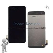 Лучшие 5.0 »черный полный ЖК-дисплей дисплей + Сенсорный экран планшета Ассамблеи для LG K8 2017 aristo m210 ms210 us215 m200n; новый