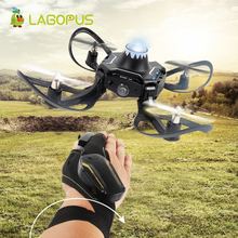 lagopus Gesture Sensing Drone Foldable Mini Drone 9cm LED Lighting  High Fixed Drone Helicopter Quadrocopter drone