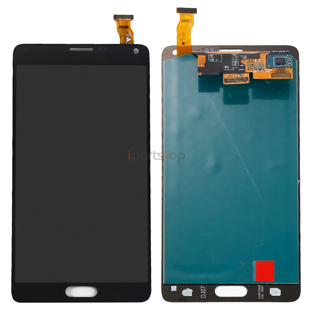Original Genuine Black White LCD Screen And Touch Digitizer Assembly For Samsung Galaxy Note 4 N910 N9100 Display Replacement 100% brand new lcd digitizer touch screen display assembly for samsung galaxy note 4 n910 n910a n910v n910p n910t black or white
