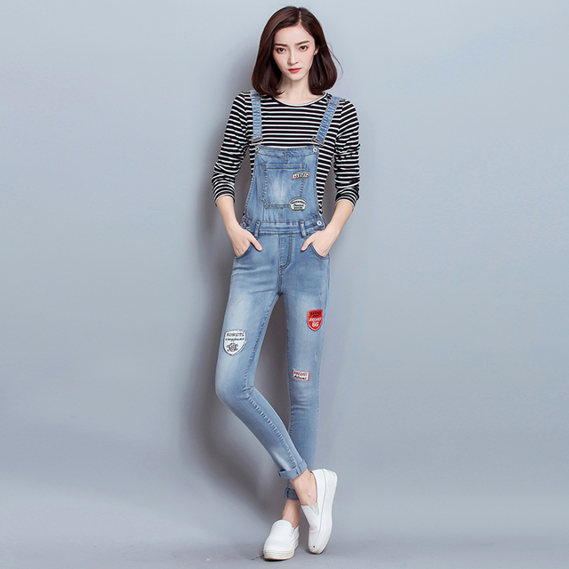 fc17d06946d5 Jeans women jumpsuit denim overalls bodysuits skinny sexy bodysuits fashion jumpsuits  woman overall jeans clothes