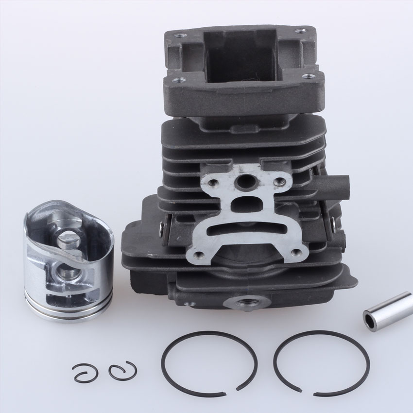 ФОТО 38MM Cylinder Piston & Ring Kit For STIHL MS171 MS181 MS181C MS211 Chainsaw 1139 020 1201