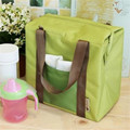 Casual con aislamiento térmico viajes más fresco totalizador impermeable Bento bolsa de almuerzo bolsa de bolsa Container Picnic Crossbody del bolso