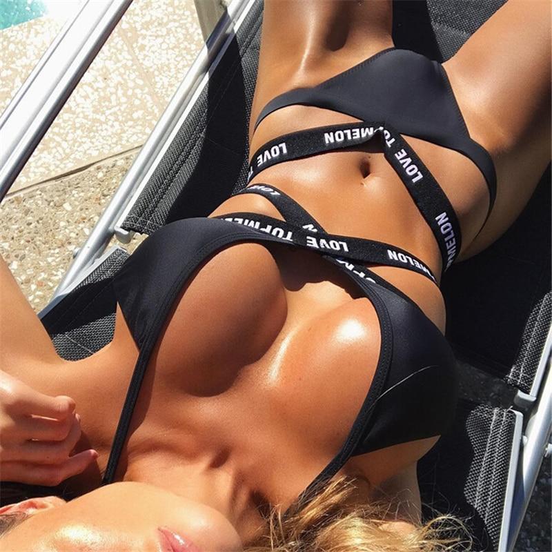 Love Letter Black Bikini 1