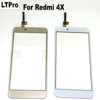 100 Tested Black White Gold Glass Panel Touch Screen Digitizer For Xiaomi Redmi 4X Mobile Phone