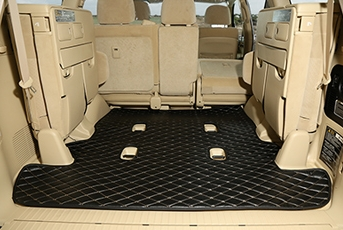 Good Quality! Special Car Trunk Floor Mat For Toyota Land Cruiser 200 7 Seats 2019-2007 Waterproof Boot Mat,Free Shipping