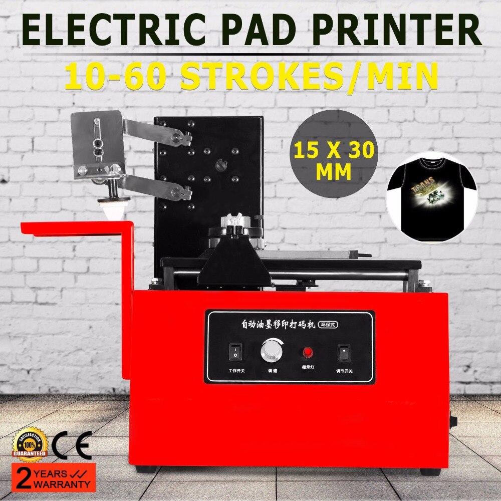 Electric Pad Printer Printing Machine Pad Printing T-shirt Ball Pen Light