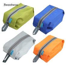 Durable Travel Storage Bag Ultralight Waterproof Oxford Washing Gargle Stuff Bag Outdoor Camping Hiking Case 40x17x11cm