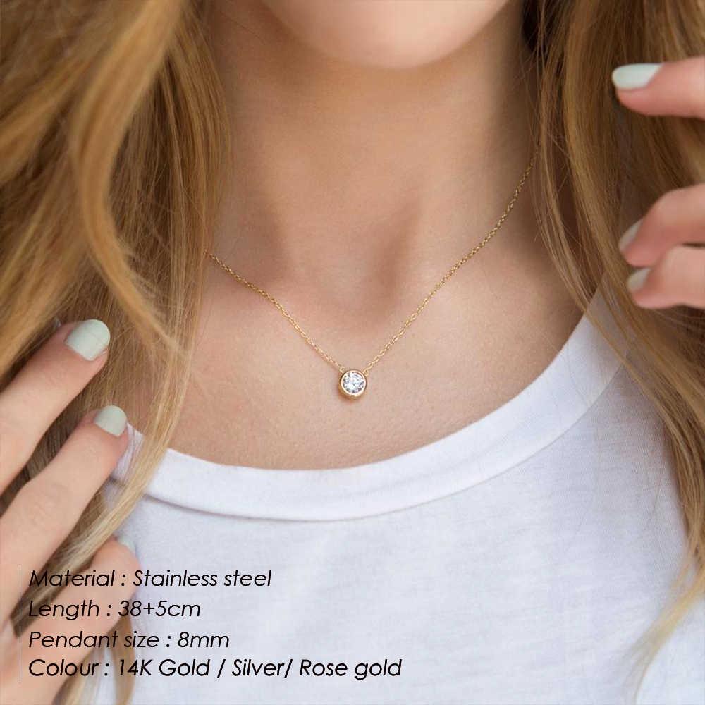 Корейское панк модное женское ювелирное ожерелье из нержавеющей стали женское золотое ожерелье ювелирные изделия модное ожерелье s 2019