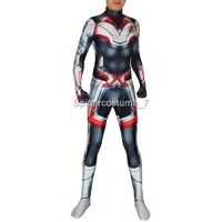The Avengers 4 Cosplay Costumes 3D Print Lycra 2019 Avengers Endgame film Quantum Realm Team Bodysuits Custom hot