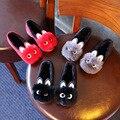 Children's school shoes 2017 весной новый девочек детский волосы дети принцесса shoes симпатичные бархат дети квартиры shoes