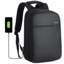 USB Charging Men Backpack 15 inch Laptop Bag Male Waterproof Schoolbag Mochila