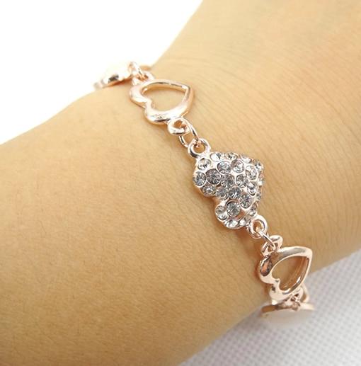 8c2fdea7a Women Fashion New Alloy gold plated opal Patterns personality female models  bracelet bracelets