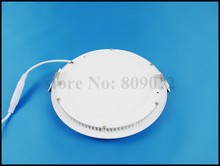 recessed LED panel light flat lamp round ceiling down panel light 3W / 6W / 9W / 12W / 15W / 18W / 24W AC85V – AC265V downlight