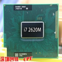 Original Intel Core Processor I7 2620M 4M Cache 2.7 GHz Laptop Notebook Cpu Processor Free Shipping I7 2520M