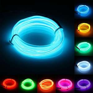 Light-Strip String-Lamp El-Wire Home-Decorations Led 1M House Festival Party Flexible