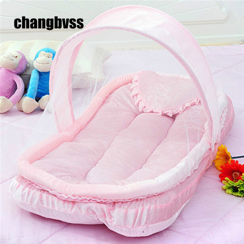 Luxury Baby Beds Mosquito Net Set Baby Crib Netting Bed