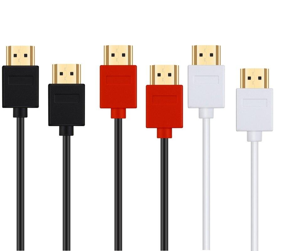 HDMI-совместимый кабель, видеокабели с позолоченным покрытием, 1,4, 1080P, 3D кабель для HDTV, сплиттер, переключатель 0,5 м, 1 м, 1,5 м, 2 м, 3 м, 5 м, 10 м
