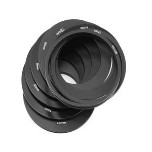 Image 3 - Полный ND 2 4 8 + постепенный Синий Оранжевый Серый фильтр 49 52 55 58 62 67 72 77 82 мм набор для Cokin P набор SLR DSLR объектив камеры