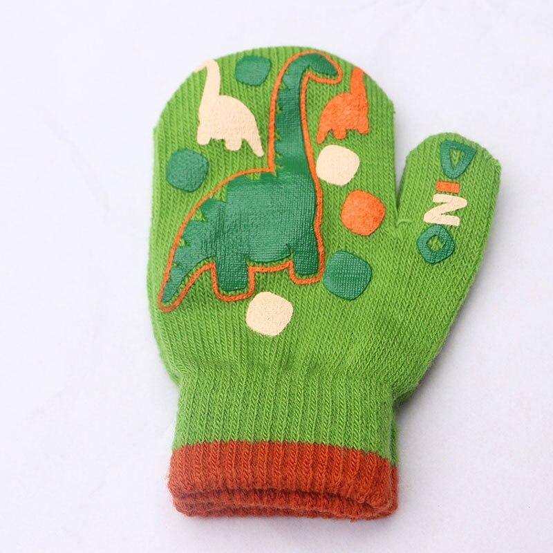 Vinter Varma Handskar Barn Strikte Vanter Barn Solid Girls Boy - Kläder tillbehör - Foto 5