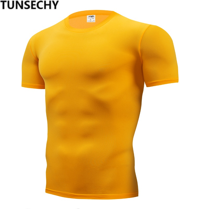 Free Shipping 2018 summer Hot Sale Cotton   T     shirt   men's casual short sleeve o-neck   T  -  shirts   black/gray/green/white/yellow S-5XL
