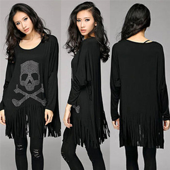 Punk Rock loose Tassel T shirt
