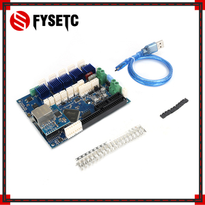Image 5 - משובט דואט 2 Ethernet מתקדם 32 קצת אלקטרוניקה לוח דואט V1.04 מתן Ethernet קישוריות עבור D מדפסות CNC מכונות