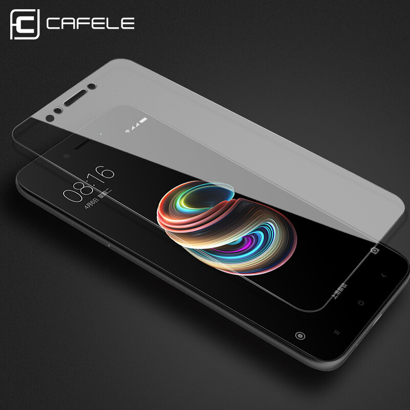 CAFELE Tempered Glass for Xiaomi Redmi Phone Protective Glass Screen Protector for Redmi Smartphone 2.5D Edge HD Clear Film