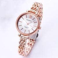 Rose Gold Women Watch Luxury Brand Stainless Steel Quartz Watch Business Ladies Watch Japanese Quartz Movement Relogio Feminino