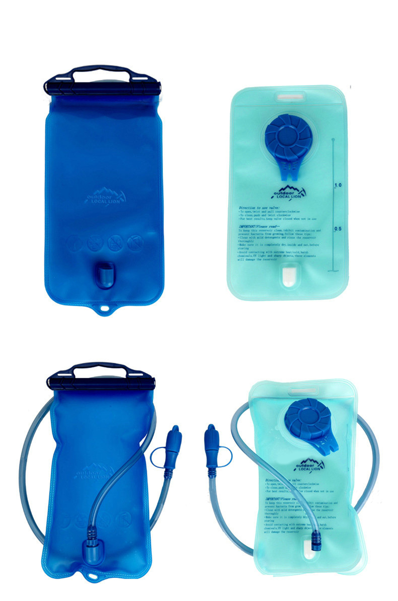 OUTDOOR LOCAL LION 1L-2L EVA Water Bag Hydration Bicycle Camping Hiking Climbing Outdoor Sport Water Bag (15)