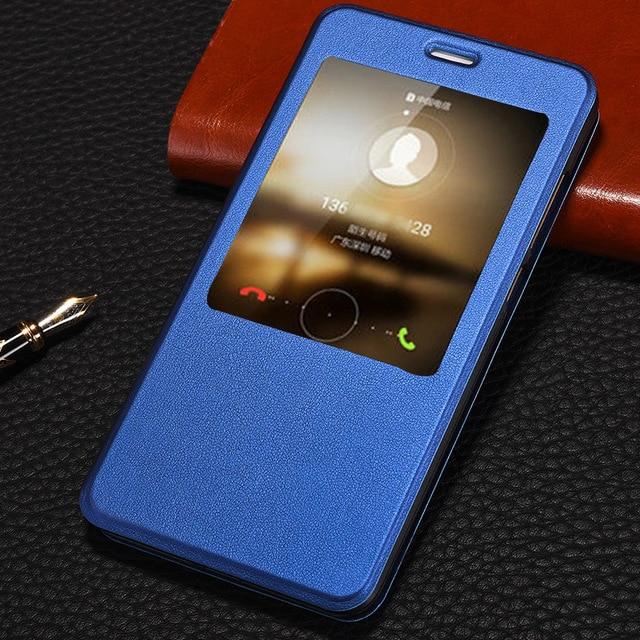 lowest price 5f8fb bf4b4 Luxury PU Leather Smart Flip Cover For Xiaomi Redmi Note 4 Global Case  Stand Auto Sleep Views Xaomi MI Redmi Note 4x Pro Cases