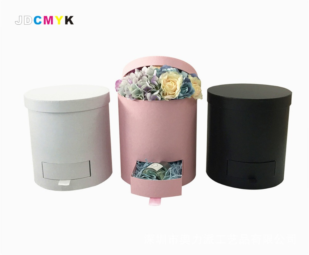 Aliexpress Com Buy Unique Design Florist Packing Flowers Gift Box Include Drawer Wedding Party