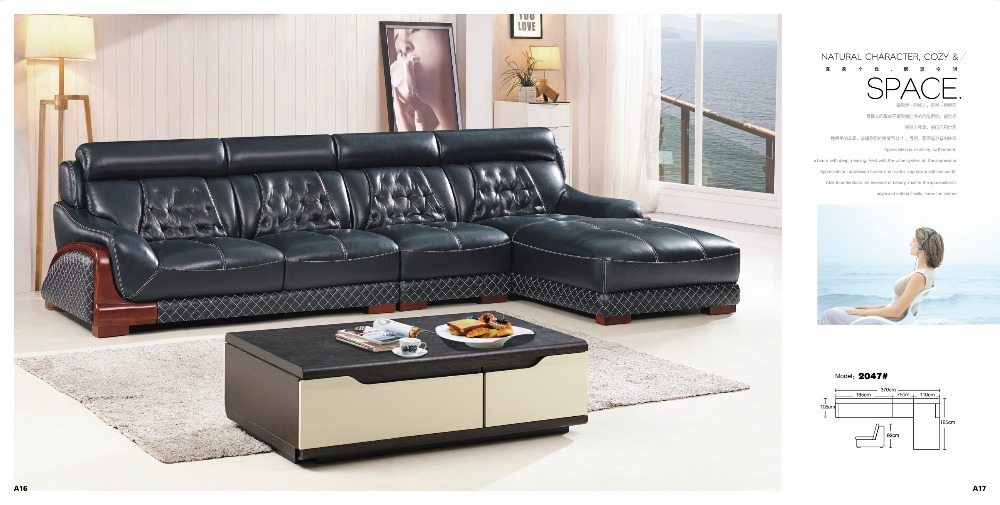 Recliner Lederen Sofa Set-Koop Goedkope Recliner Lederen Sofa Set ...