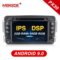 MEKEDE PX30 7Android 9.0 Car DVD Player For Mercedes Benz W209 W203 W463 Viano W639 Vito Wifi 3G GPS BT Radio Stereo audio