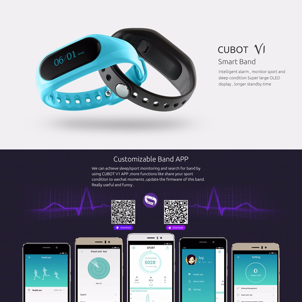smart watch cubot v1 (1)